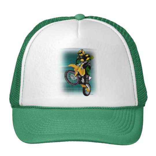 Motocross 408 trucker hat