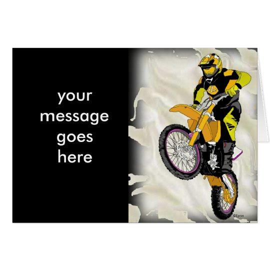 Motocross 409 card
