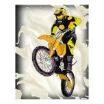 Motocross 409 custom letterhead