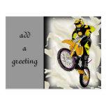 Motocross 409 post card