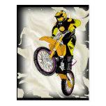 Motocross 409 postcard