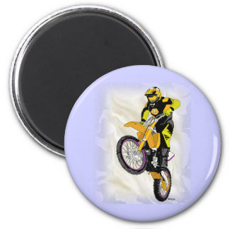 Motocross 410 2 inch round magnet