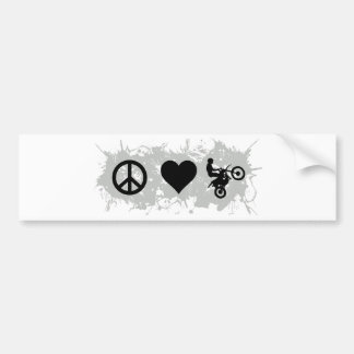 Motocross 4 bumper sticker