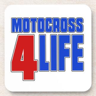 MOTOCROSS 4 LIEE BEVERAGE COASTER