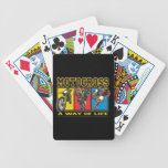 Motocross A Way of Life Bicycle Playing Cards