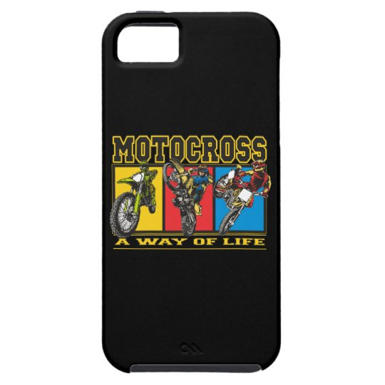 Motocross A Way of Life iPhone SE/5/5s Case