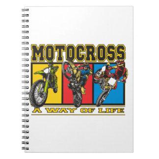 Motocross A Way of Life Notebook