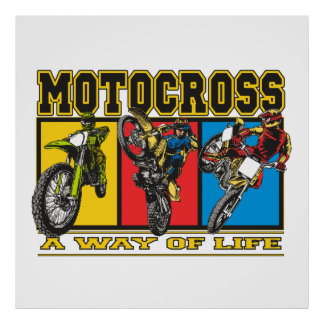 Motocross A Way of Life Poster