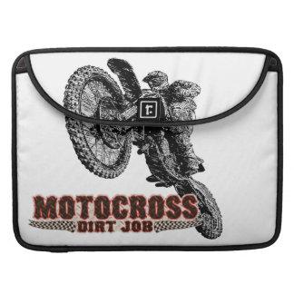 Motocross addict MacBook pro sleeve