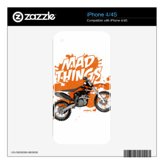 Motocross addict skins for iPhone 4