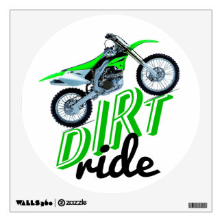 Motocross addicts wall decal