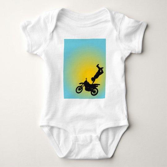 Motocross Baby Bodysuit