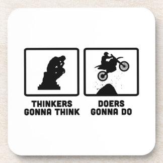 Motocross Beverage Coasters