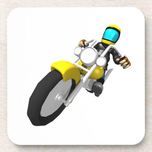 Motocross Biker Drink Coaster