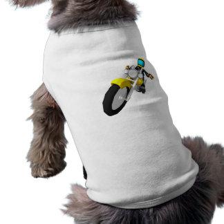 Motocross Biker Dog T-shirt