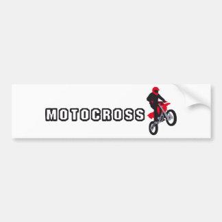 motocross bumper sticker