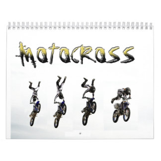 Motocross Calendar, Copyright Karen J Williams