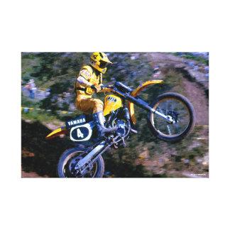 Motocross Canvas Wrap - Hurricane at Saddleback