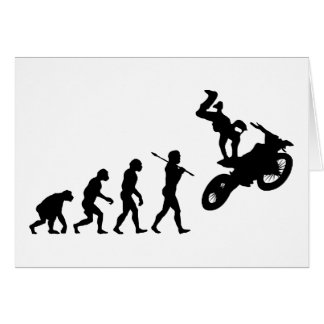 Motocross Greeting Card