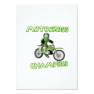 Motocross Champion Card