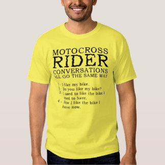Motocross Conversations Funny Dirt Bike Shirt