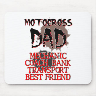 Motocross Dad Dirt Bike Mousepad