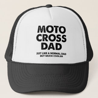 Motocross Dad Funny Dirt Bike Ball Cap Hat