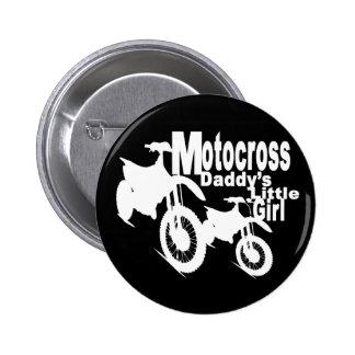 Motocross Daddy's Girl Pin