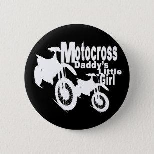 motocross buttons pins decorative button pins zazzle Cafe Racer Gas Tank motocross daddy s girl pinback button