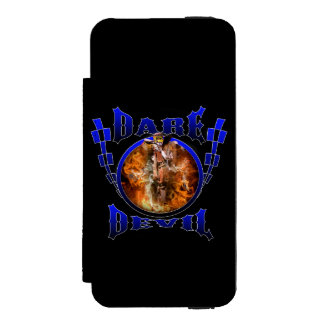 Motocross Dare Devil iPhone SE/5/5s Wallet Case