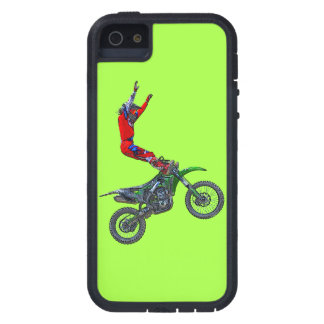 Motocross Dirt-Bike Aerial Stunt Display Case For iPhone SE/5/5s