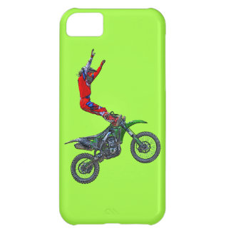 Motocross Dirt-Bike Aerial Stunt Display iPhone 5C Case