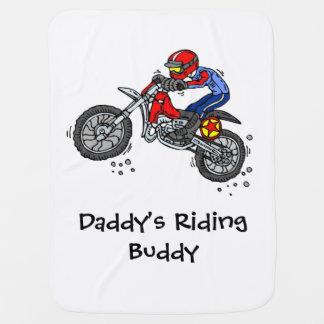 Motocross Dirt Bike Baby Blanket