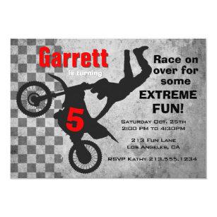 Dirt bike invitations announcements zazzle motocross dirt bike birthday party invitation filmwisefo