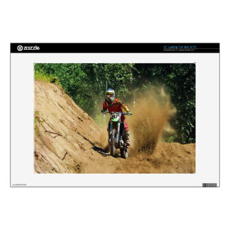 Motocross Dirt-Bike Champion Race Decal For Laptop