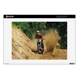 Motocross Dirt-Bike Champion Race Decal For Laptop