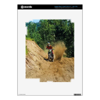 Motocross Dirt-Bike Champion Race iPad 3 Decals
