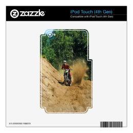 Motocross Dirt-Bike Champion Race iPod Touch 4G Decals
