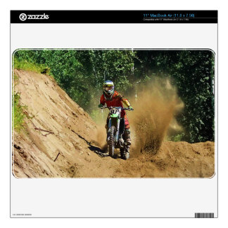 Motocross Dirt-Bike Champion Race MacBook Air Decals