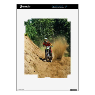 Motocross Dirt-Bike Champion Race Skin For The iPad 2