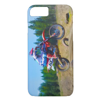 Motocross Dirt-Bike Champion Racer 2 iPhone 8/7 Case
