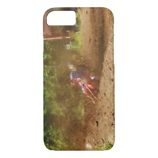 Motocross Dirt-Bike Champion Racer 5 iPhone 8/7 Case