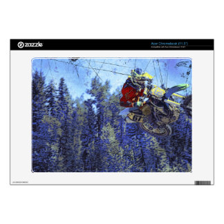 Motocross Dirt-Bike Champion Racer Acer Chromebook Skins