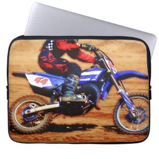 Motocross Dirt-Bike Champion Racer Computer Sleeve