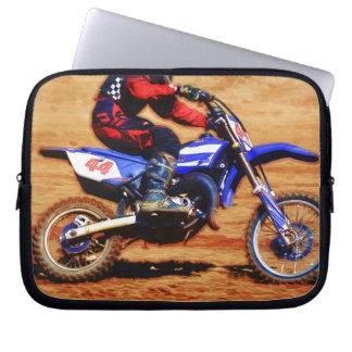Motocross Dirt-Bike Champion Racer Laptop Sleeves
