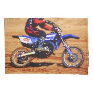 Motocross Dirt-Bike Champion Racer Pillowcase