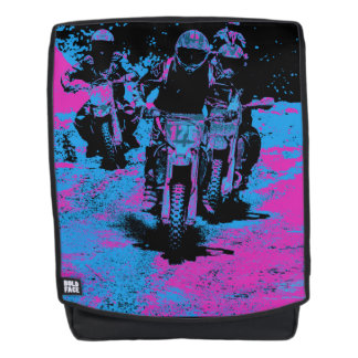 Motocross Dirt-Bike Championship Racers Backpack