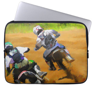 Motocross Dirt-Bike Championship Racers Computer Sleeves