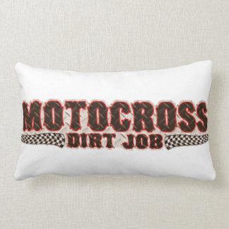 Motocross Dirt Lumbar Pillow