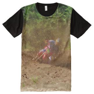 Motocross Dirt-Racing Fine Art Shirt